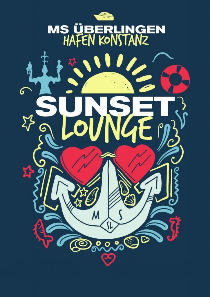 sunset lounge boat